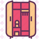 furniture, opencloset, wardrobe2 icon