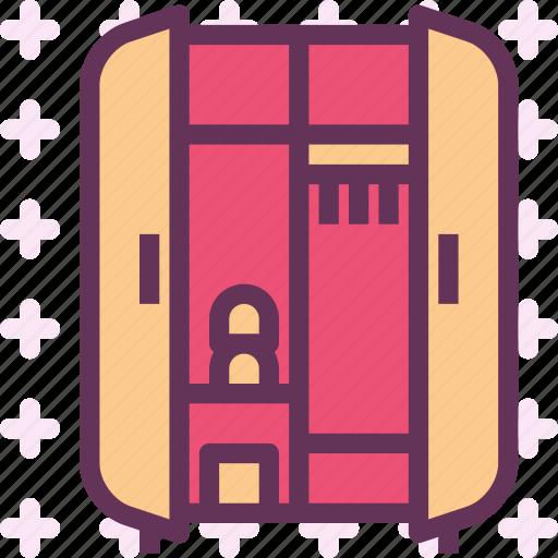 furniture, opencloset, wardrobe2 icon