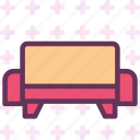 rest, sleep, sofa icon
