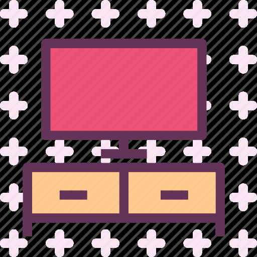entertainment, movie, tv, watch icon