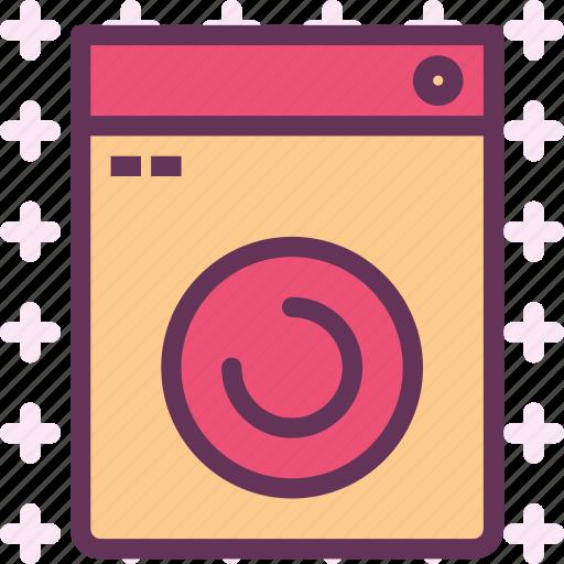 cabinets, device, furniture, kitchen, washingmachine icon