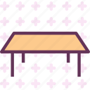serve, table icon