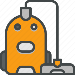 cleaner, sweeper, vacuum icon