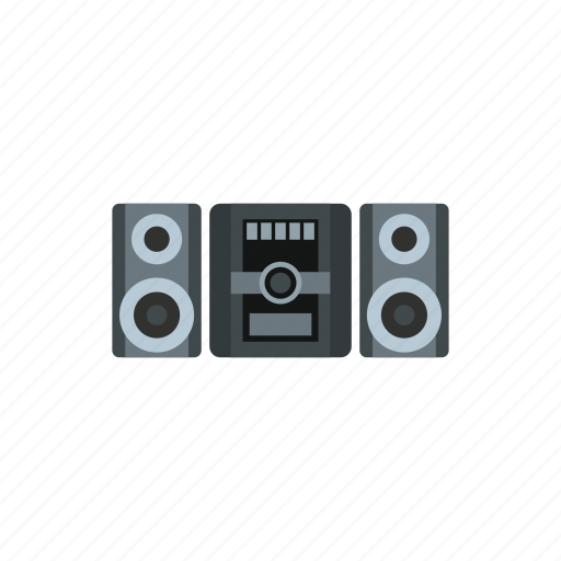 audio, cassette, center, music, player, retro, tape icon