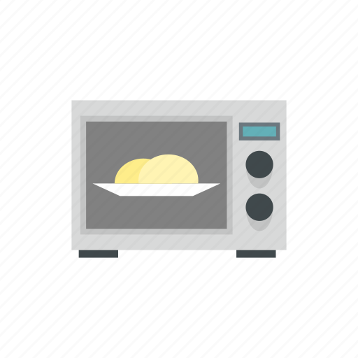 cooking, equipment, food, kitchen, microwave, oven, technology icon