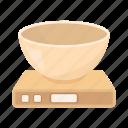 appliance, bowl, fixture, household appliances, scales, equipment, kitchen