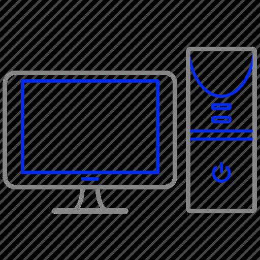 appliance, computer, desktop, home, house, household icon