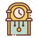 bell, clock, furniture, household, wall