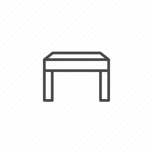 furniture, home, house, household, households, interior, table icon