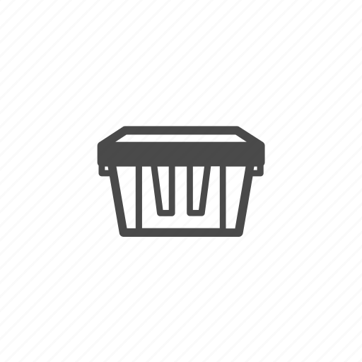 box, crate, delivery, medium, package, parcel, shipping icon