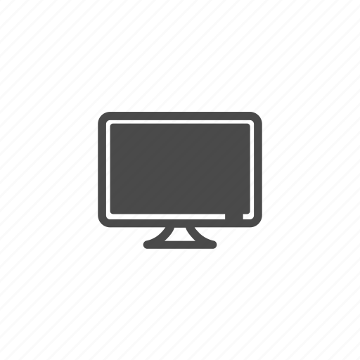 computer, electronics, lcd, monitor, screen, television, tv icon