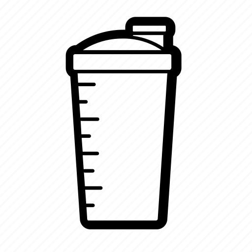 bottle, drink, health, protein, shake, shaker, smoothie icon