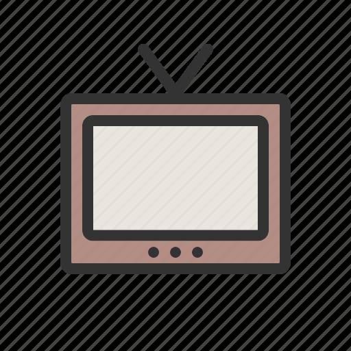 display, media, screen, set, television, tv, video icon