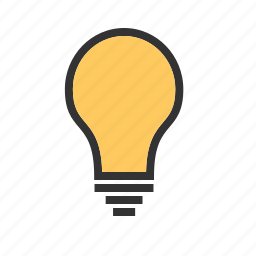 bright, bulb, color, electric, lamp, light, lightbulb icon