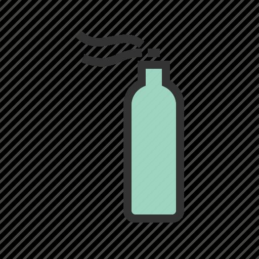 bottle, hairspray, mist, paint, plastic, spray, water icon