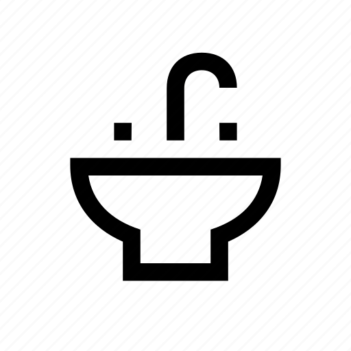 cleaning, faucet, household, hygiene, sink, water icon