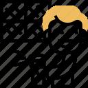 cleaning, spray, window, sanitation, caretaker icon