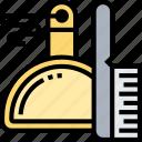 dustpan, brush, scrubbing, cleaning, equipment