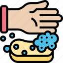 sponges, dish, wash, clean, housework