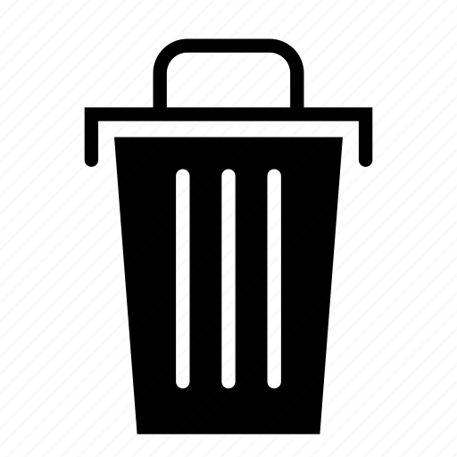 can, clean, household, housekeeping, trash, wash icon