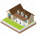 center, city hall, convention house, meeting house, office building icon