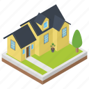 city hall, city home, commercial building, meeting house, urban home, villa icon
