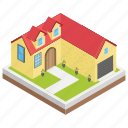 modern house, city home, hut, urban home, villa
