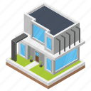 city hall, commercial building, hotel, office building, town hall icon