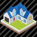 city home, hut, modern house, urban home, villa icon