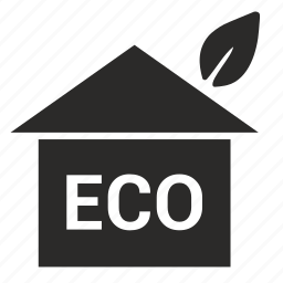 eco, ecology, home, house icon