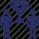 achievement, business award, goal achieved, success, triumph icon
