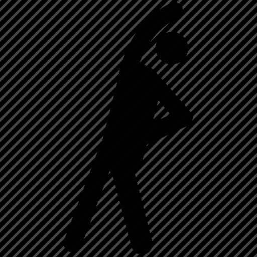 athlete, exerciser, exercising, practicer, trainer icon