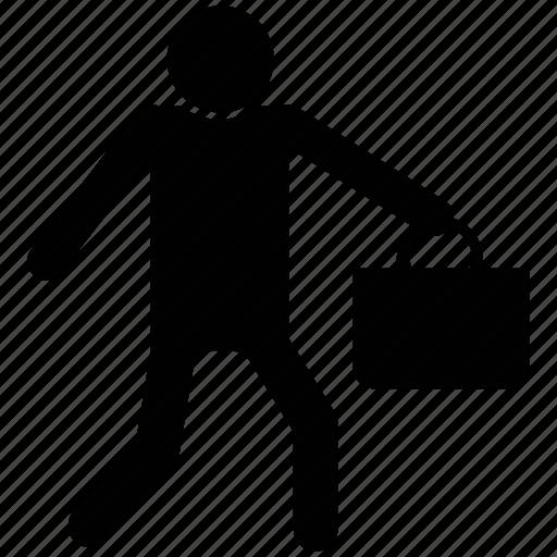 burglar, handbag snatcher, robber, stealer, thief icon