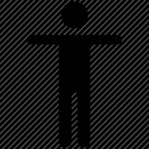 athelete, exerciser, man, sportsman, sportsperson icon