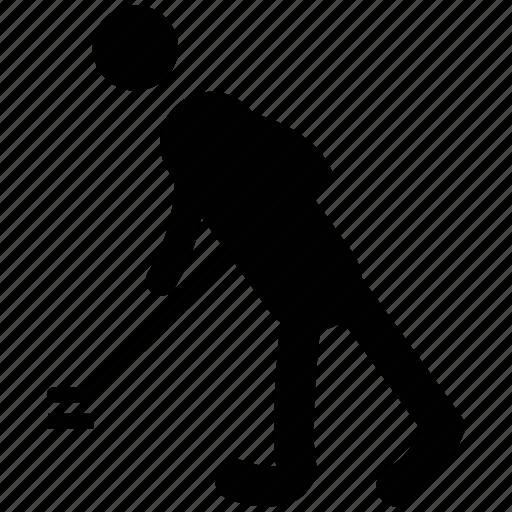 game player, hockey player, ice hockey, sports, sportsman icon