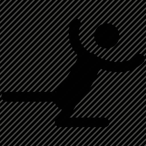 athlete, exerciser, gymnastics, sportsman, sportsperson icon