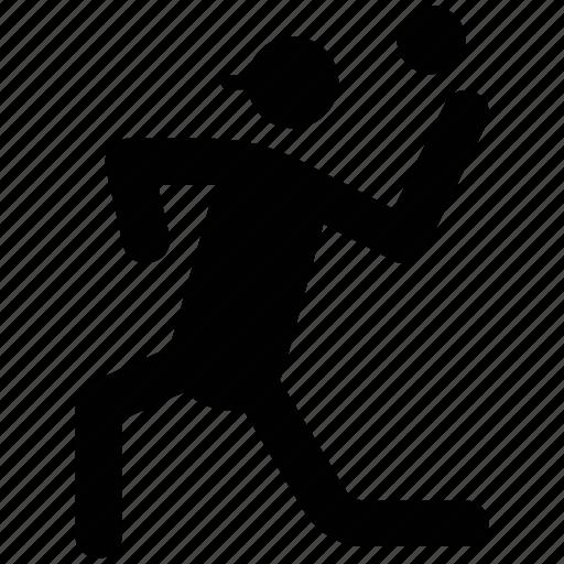 athlete, baller, game player, player, sportsman icon