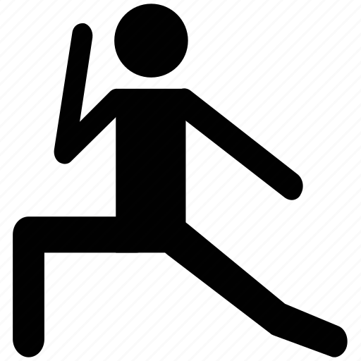 athlete, exerciser, gymnast, player, stretching, trainer icon