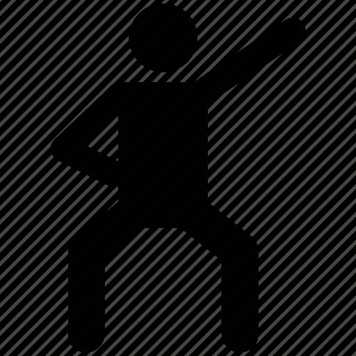 athlete, exerciser, exercising, sportsperson, trainer icon