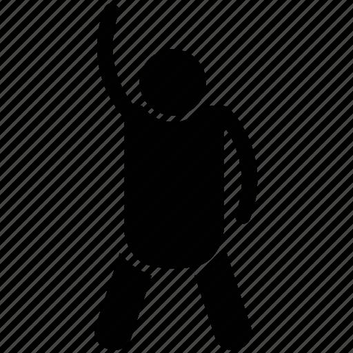 athlete, exercising, fitness, gymnast, man icon