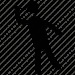 astronomer, avatar, man, man with spyglass, pirate spyglass icon