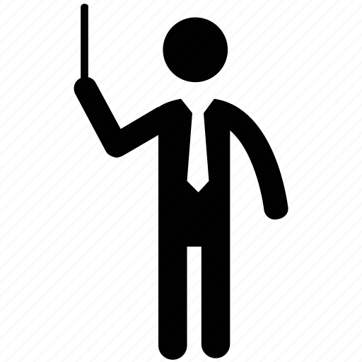 maestro, music composer, music instructor, orchestra conductor icon