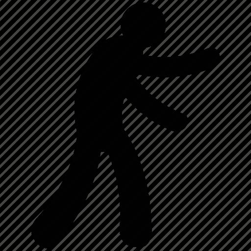 athelete, cricket bowler, posture, sports man, sports person icon