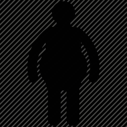 fat, fatty, fatty man, posture, sumo, woman icon