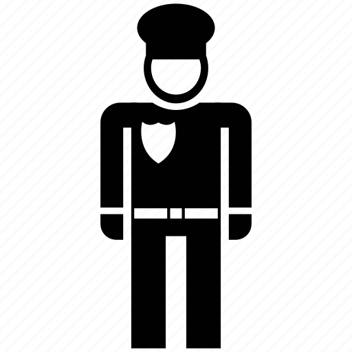 Army officer, avatar, captain, general, major, silhouette icon - Download on Iconfinder