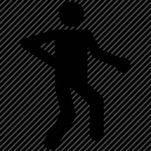athlete, avatar, exerciser, gym, silhouette, sportsman icon