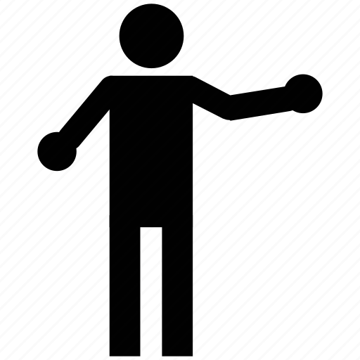 act, action, man, motion, movement, silhouette icon