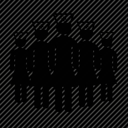 nurse, nurse avatar, nurse group icon