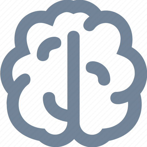 body, brain, brainstorming, cleaver, head, human, organs, study icon