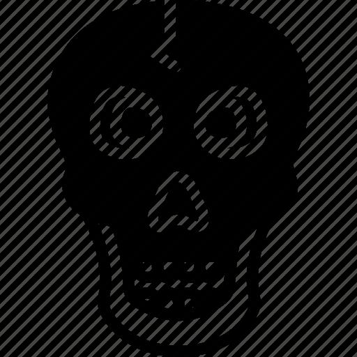 bone, danger, halloween, poison, scary, skeleton, skull icon